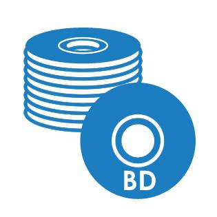 BD-Rコピー(標準メディア)
