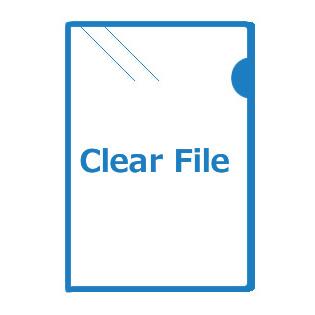 クリアファイル印刷